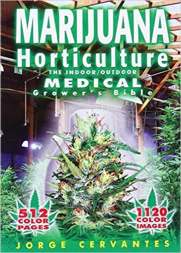 marijuana horticulture book
