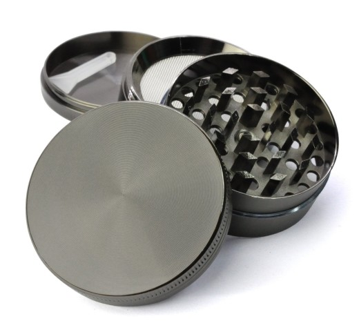 Golden Bell 4 Piece Weed Grinder