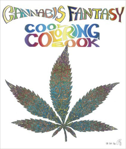 Cannabis Coloring Book