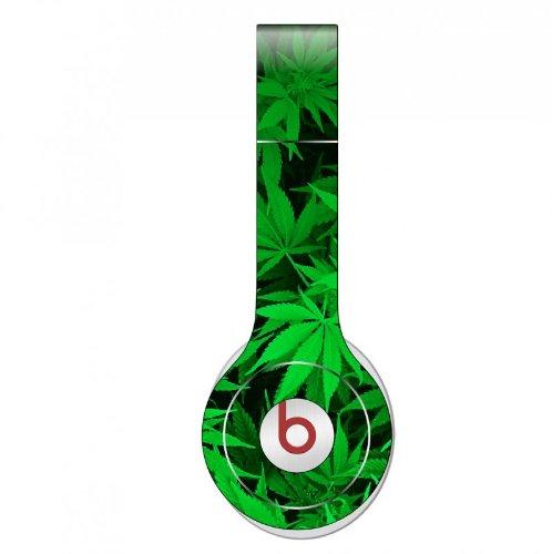 Marijuana Decal Skin For Beats Solo Headphones