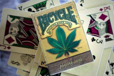 bicycle hemp playing cards