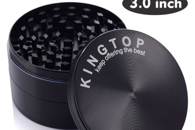 kingtop 4 piece herb grinder