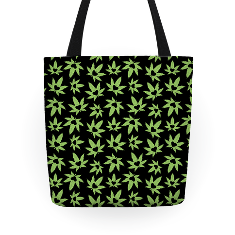 pot leaf love tote bag