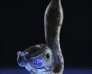 Octopus Glass Sherlock Pipe
