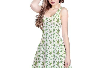cannabis dress
