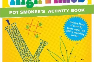 pot smoker's activity book