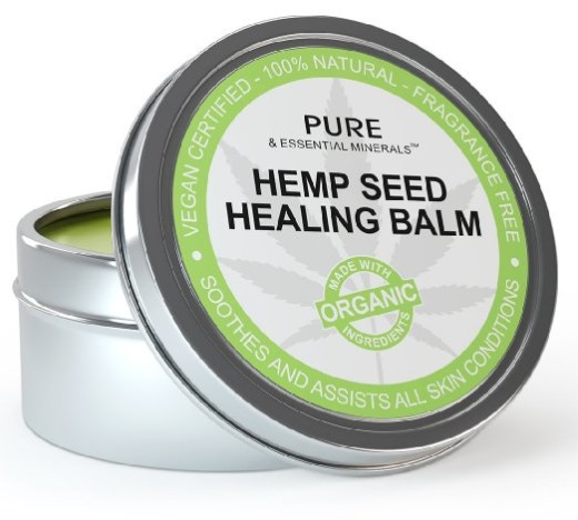 Organic Hemp Seed Healing Balm
