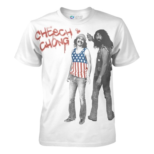 Cheech and Chong vintage t-shirt