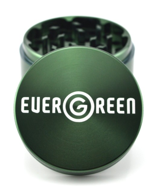evergreen 4 piece weed grinder