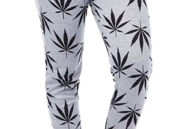 Pot Leaf Casual Jogging Pants