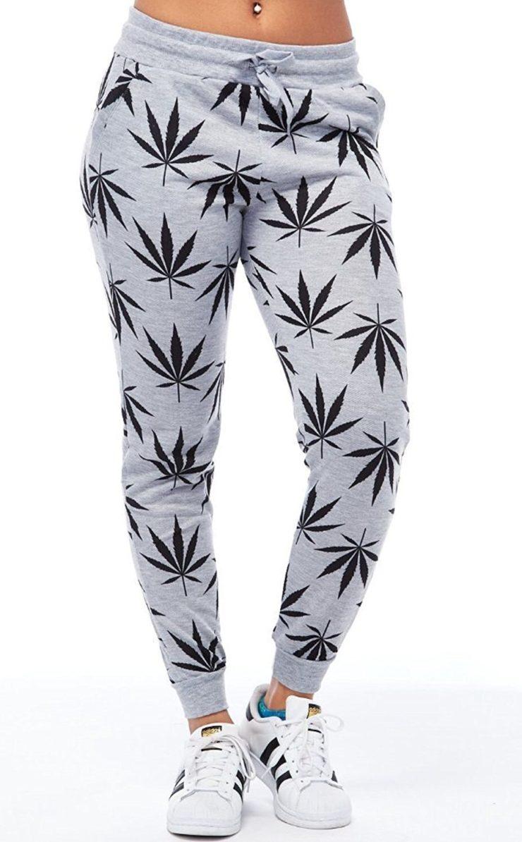Pot Leaf Casual Jogging Pants