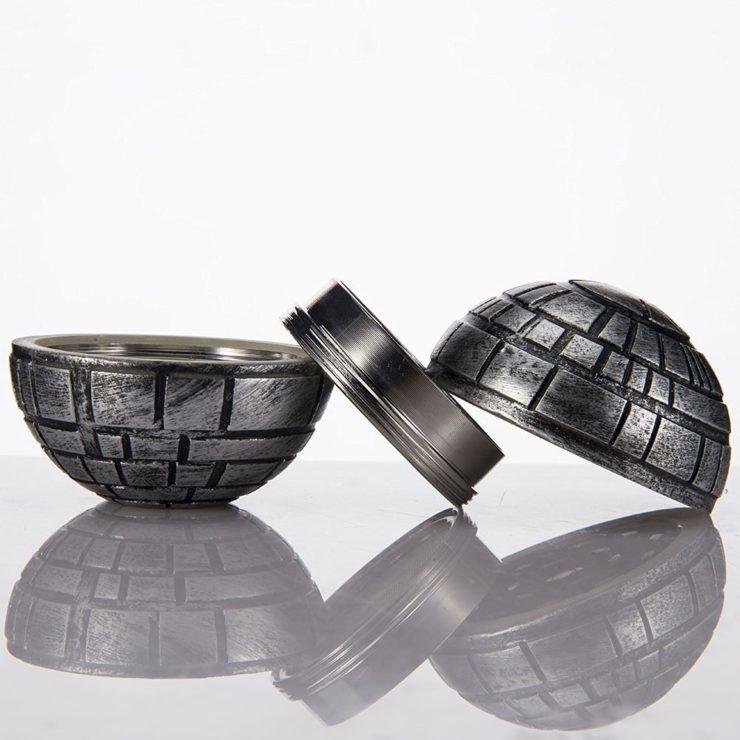 Death Star three piece grinder