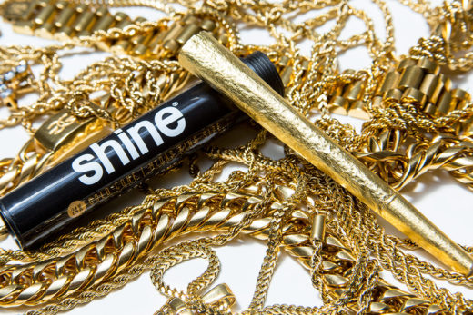 Shine 24K Gold King Cone Pre-Rolled Paper