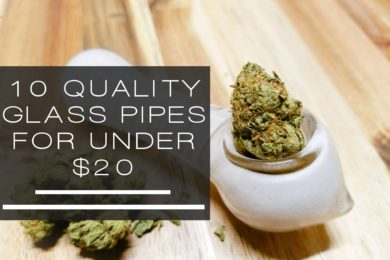 glass pipes under $20