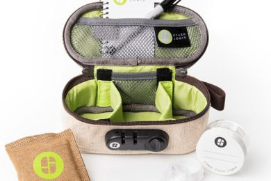 Stashlogix GoStash: Odor Proof Stash Bag With Lock