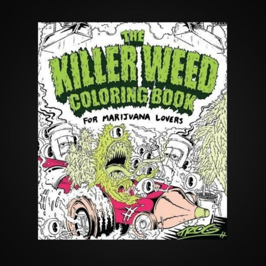 The Killer Weed Coloring Book