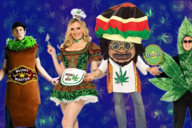 Cool Weed Themed Halloween Costumes For Him and Her