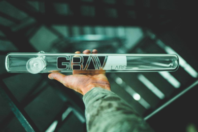 Extra Large Glass Steamroller Pipe From Grav Labs