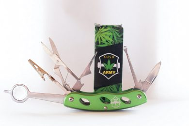 Kush Army Knife: A Multi-tool For The Prepared Stoner